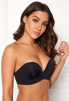 Wonderbra Perfect Strapless Bra Black Bubbleroom.dk