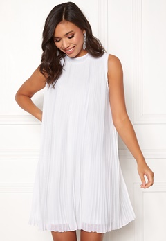 Make Way Agnes pleated dress White Bubbleroom.dk
