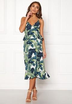 Make Way Analisa dress Green / Patterned Bubbleroom.dk