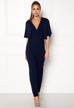 Make Way Ariana jumpsuit Dark blue Bubbleroom.dk