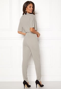 Make Way Ariana jumpsuit Light grey Bubbleroom.dk