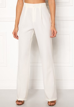 Make Way Beth trousers White Bubbleroom.dk