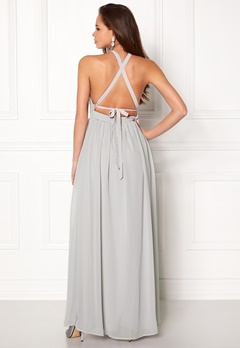 Make Way Cora Maxi Dress Light grey Bubbleroom.dk