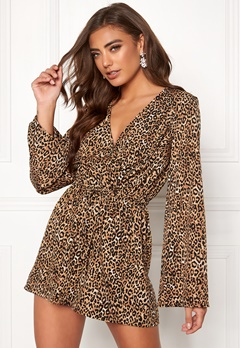 Make Way Dakota playsuit Leopard Bubbleroom.dk