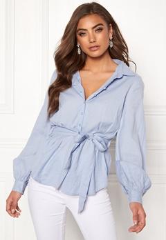 4a537a8947a6 Make Way Donna blouse Light blue Bubbleroom.dk