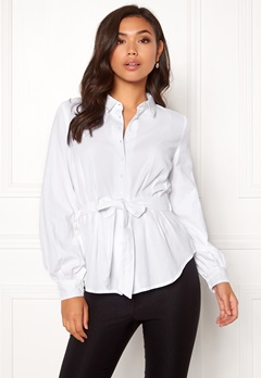 Make Way Donna blouse White Bubbleroom.dk