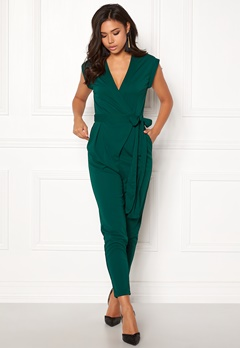 Make Way Elle Jumpsuit Dark green Bubbleroom.dk