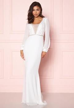 Make Way Emeline gown White Bubbleroom.dk