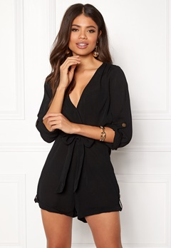 Make Way Flynn Playsuit Black Bubbleroom.dk