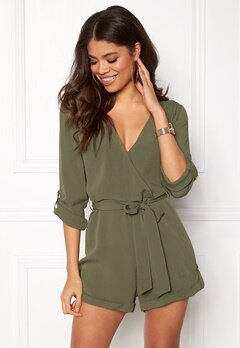 Make Way Flynn Playsuit Green Bubbleroom.dk