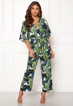 Make Way Gracie jumpsuit Green / Patterned Bubbleroom.dk