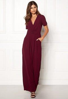 Make Way Harlee jumpsuit Wine-red Bubbleroom.dk