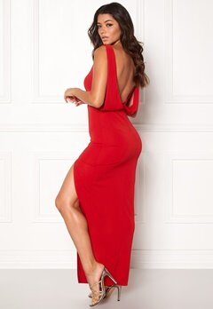Make Way Janelle Dress Red Bubbleroom.dk