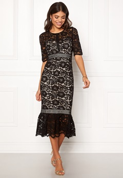 Make Way Jessenia dress Black / Beige Bubbleroom.dk