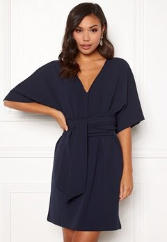 Make Way Joelle dress Dark blue Bubbleroom.dk