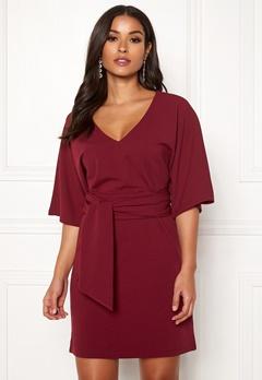 Make Way Joelle dress Dark red Bubbleroom.dk