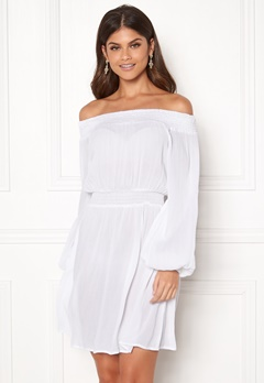 Make Way Krista offshoulder dress White Bubbleroom.dk