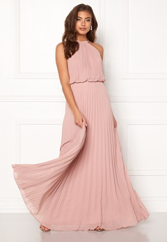 Make Way Leilani maxi dress Dusty pink Bubbleroom.dk