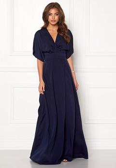 Make Way Lemonie kimono gown Dark blue Bubbleroom.dk