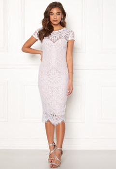 Make Way Lisa lace dress White / Beige Bubbleroom.dk