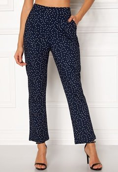Make Way Nadine trousers Blue / White / Dotted Bubbleroom.dk
