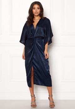 Make Way Nikki kimono dress Navy Bubbleroom.dk