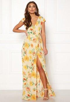 Make Way Odette dress Beige / Floral Bubbleroom.dk