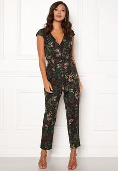 Make Way Patrina jumpsuit Black / Floral Bubbleroom.dk