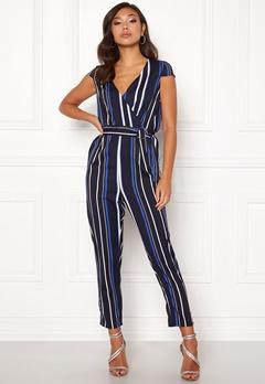 Make Way Patrina jumpsuit Blue / White / Striped Bubbleroom.dk