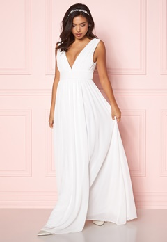 Make Way Prudence maxi dress Winter white Bubbleroom.dk