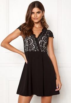 Make Way Rachel lace dress Black / Beige Bubbleroom.dk