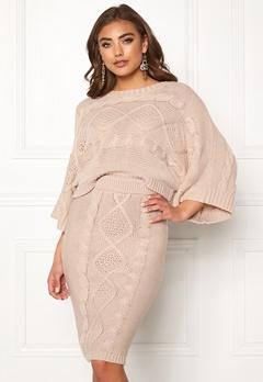 Make Way Rania knitted sweater Beige Bubbleroom.dk