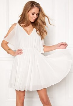 Make Way Sabine dress White Bubbleroom.dk