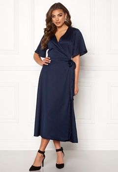 Make Way Scala dress Dark blue Bubbleroom.dk