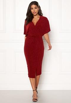 Make Way Selena sparkling dress Red / Red Bubbleroom.dk