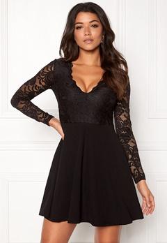 Make Way Shelby Dress Black Bubbleroom.dk