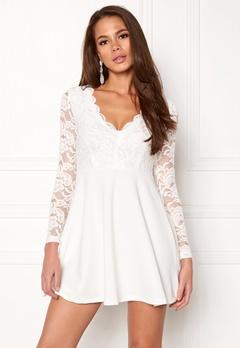 Make Way Shelby Dress White Bubbleroom.dk