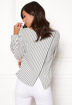 Make Way Sita blouse White / Black Bubbleroom.dk