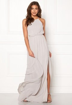 Make Way Vania maxi dress Light grey Bubbleroom.dk
