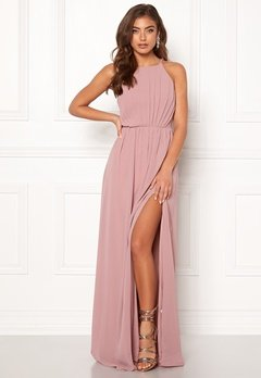 Make Way Vania maxi dress Old rose Bubbleroom.dk
