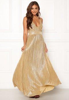 Make Way Velora dress Gold-coloured Bubbleroom.dk