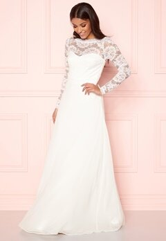 Make Way Fantine wedding gown White Bubbleroom.dk