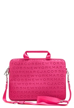 "Marc Jacobs Computer Case 13"" Punch Pink Bubbleroom.dk"