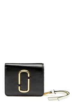 Marc Jacobs Mini Compact Wallet Black Multi Bubbleroom.dk