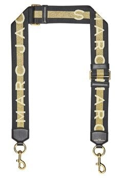 The Marc Jacobs Marc Jacobs Webbing Strap 765 Gold Multi Bubbleroom.dk