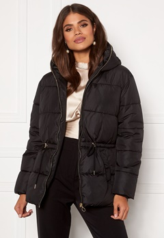 Martine Lunde X Bubbleroom Puffer jacket  Black Bubbleroom.dk