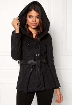 ONLY mary lisa short wool coat black Bubbleroom.dk