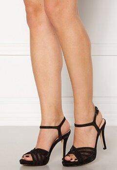 Menbur Glitter Sandals Black Bubbleroom.dk