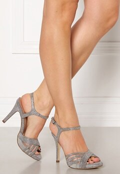 Menbur Glitter Sandals Silver Bubbleroom.dk