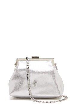 Menbur Glitter Soft Bag Silver Bubbleroom.dk